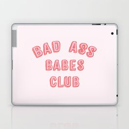 BAD ASS BABES CLUB Laptop & iPad Skin