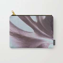 Cheeseplant Leaf Portrait Carry-All Pouch