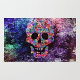 Happy skull Rug