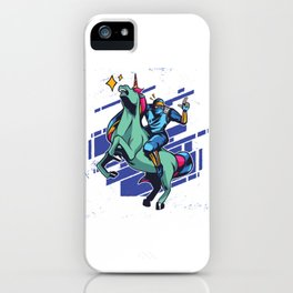 Fantasy Unicorn Dabbing T Shirt Gift Kids Girls Boys Womens iPhone Case