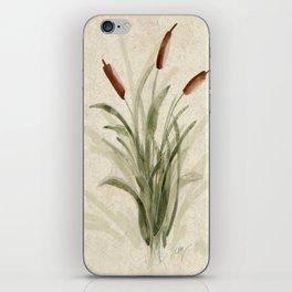 cattails 2 iPhone Skin