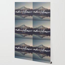 Trillium Adventure Begins - Nature Photography Wallpaper