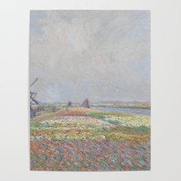 Tulip Fields near The Hague Poster