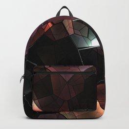 crystals background design luxury Backpack