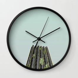 LND CLR X-3 London Colour Architecture Art Wall Clock