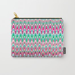 Making Waves Pink and Preppy Carry-All Pouch