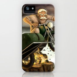 Major Chronicles The Major iPhone Case