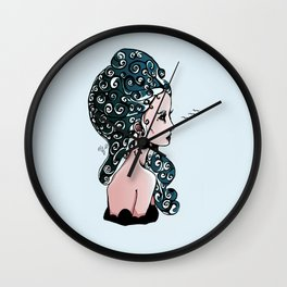 Maiden of the Deep Wall Clock