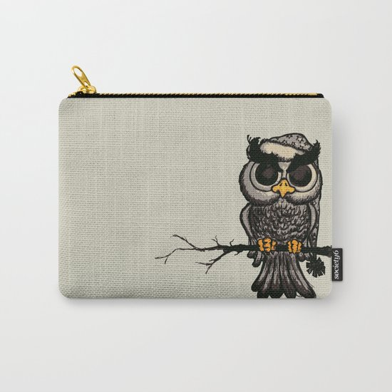 Angry owl Carry-All Pouch