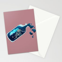 Creation in the bottle Stationery Cards