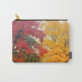 Fall Leaves in Memphis Carry-All Pouch