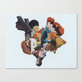 the nerium spring Canvas Print