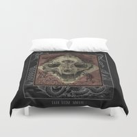 alchemy Duvet Covers featuring Alchemy 1800 by Dark Room