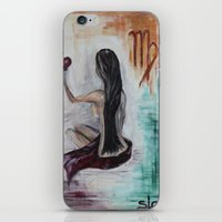 virgo iPhone & iPod Skins featuring Virgo by sladja
