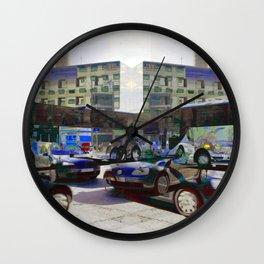 """""""... keeps revolving / In a half-forgotten dream ..."""" Wall Clock"""