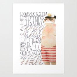 Rio - Timoneiro Art Print