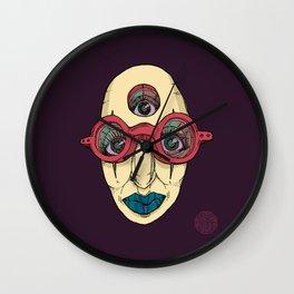 SEEK DEEP WITHIN Wall Clock
