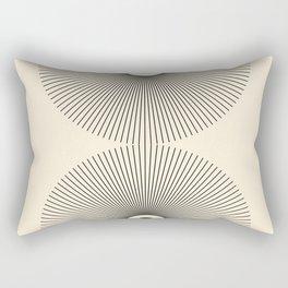 Abstraction_NEW_SUN_LINE_POP_ART_Minimalism_027AA Rectangular Pillow