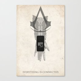 Watchdogs/AC - Everything Is Connected Canvas Print