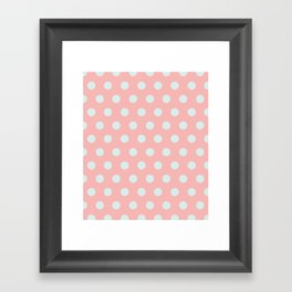 Dots collection III Framed Art Print