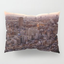 The View of Mt Fuji from the Top of Tokyo Tower Pillow Sham
