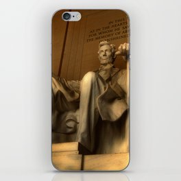 Abraham Lincoln iPhone Skin