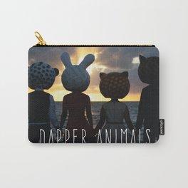 Dapper Animals Sunset Carry-All Pouch