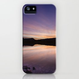 Pahranagat National Wildlife Refuge Sunset #2 iPhone Case