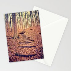 Path in the Woods Stationery Cards