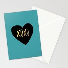 XOXO Heart Stationery Cards