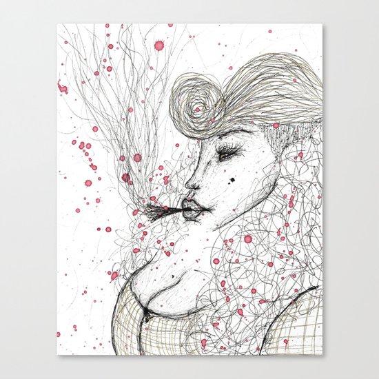 Big Mama Pink Canvas Print