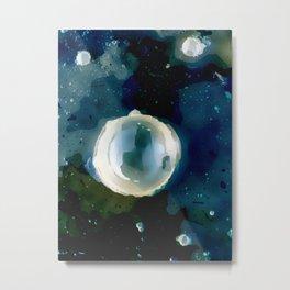 Ice Bubble Nebula. Metal Print