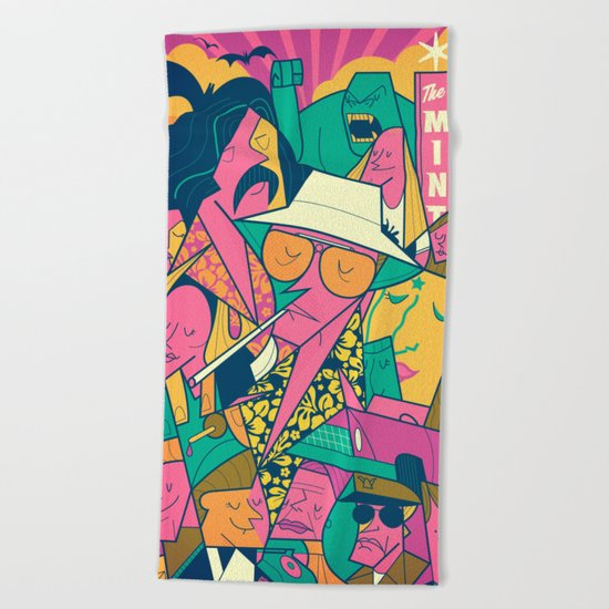 Fear and Loathing Beach Towel