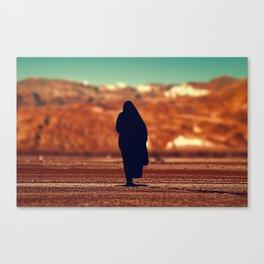 Moroccan lady silhouette #society6 #decor #buyart Canvas Print