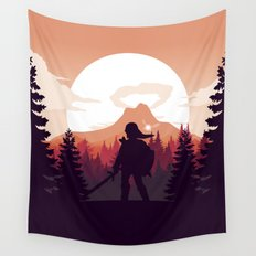 The Legend of Zelda - Orange Version Wall Tapestry