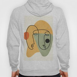 Abstract Faces 19 Hoody