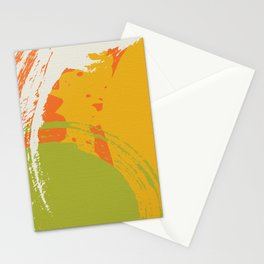 Colorful Brush Strokes AP176-8 Stationery Cards