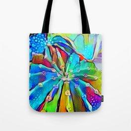 Cactus Rainbows Tote Bag