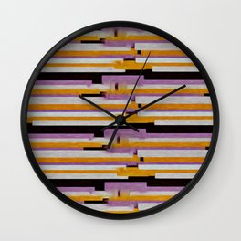 Art crusher  Wall Clock