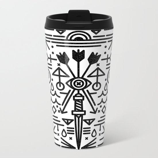 Eye of Vengence Metal Travel Mug