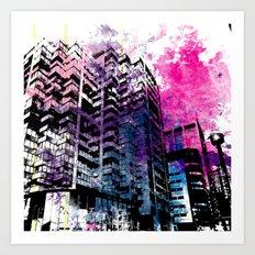 Ciudad #1 Art Print