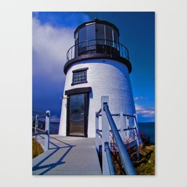Owl's Head Lighthouse Canvas Print