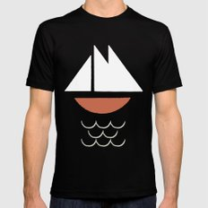 Yacht Mens Fitted Tee MEDIUM Black