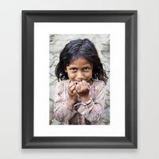 The Girl from San Esteban Catarina Framed Art Print