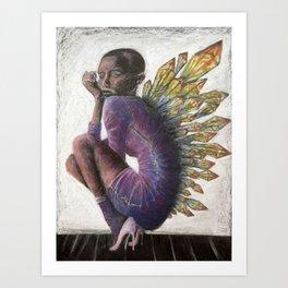 Crystal Fairy Art Print