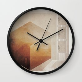Cubed  Wall Clock