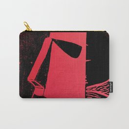 Photo Red - Abstract Surrealism Print Carry-All Pouch