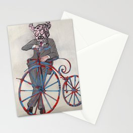 Barry Gangster Farthing - Cream Stationery Cards