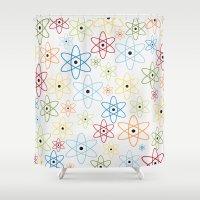 teacher Shower Curtains featuring School teacher #6 by Juliana RW