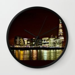 London City Reflections. Wall Clock